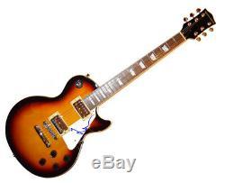 Pink Floyd Nick Mason Autographed Signed LP Guitar Uacc Rd AFTAL