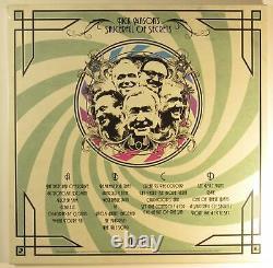Pink Floyd Nick Mason Saucerful of Secrets Live Signed Auto Poster &Vinyl LP