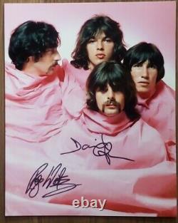 Pink Floyd Original Hand Signed Autographed 8x10 Photo COA