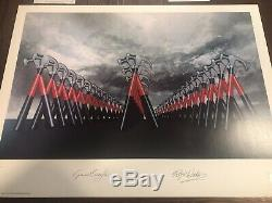 Pink Floyd P/signed & Numbered Lithographs The Wall 19.5 X 26