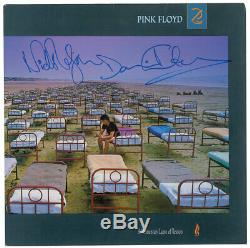 Pink Floyd SIGNED DAVID GILMOUR SIGNED NICK MASON SIGNED Momentary Lapse album