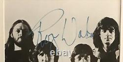 Pink Floyd Signed Autographed 8 x 10 Columbia Records Photograph, PSA/DNA Coa