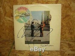 Pink Floyd Signed Autographed Wish You Were Here By 2 Musicians