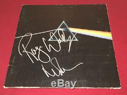 Pink Floyd Signed Dark Side Of The Moon Lp Vinyl X2 Roger Waters Nick Mason