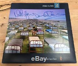 Pink Floyd Signed LP A Momentary Lapse Of Reason Autographed by Gilmour & Mason