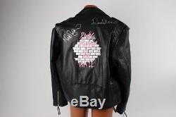 Pink Floyd Signed Leather Band Jacket COA JSA