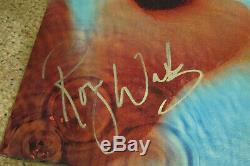 Pink Floyd Signed Meddle Album by Roger Waters. 2016 Reissue Vinyl