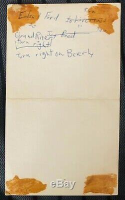 Pink Floyd Stooges Who Grande Ballroom Gary Grimshaw 1968 ORIGINAL Handbill