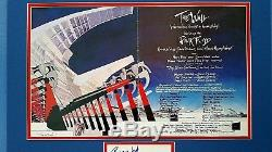 Pink Floyd The Wall Collage Signed Rogers Gilmour Mason Wright 22.5x19.75
