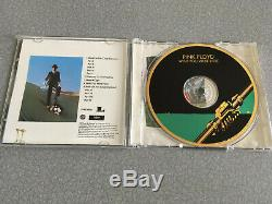 Pink Floyd Wish You Were Here Sony Mastersound 24 KT Gold CD SIGNED NEW