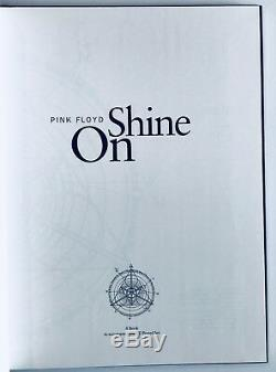Pink Floyd group signed shine on Book gilmour wright all 4 rare epperson loa