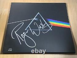 Pink Floyd signed Dark Side of the Moon Vinyl Lp Roger Waters Proof