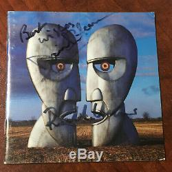 Pink Floyd signed Daviid Gilmour signed Richard Wright signed Division Bell CD
