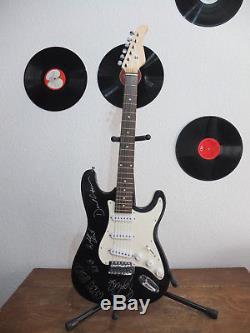 Pink Floyd signed Guitar signierte Gitarre RAR! TOP! Reinschauen