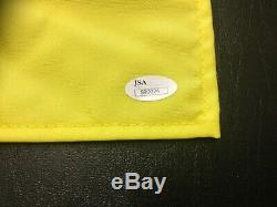 RAY FLOYD COREY PAVIN RETIEF GOOSEN signed SHINNECOCK golf flag JSA needs Koepka