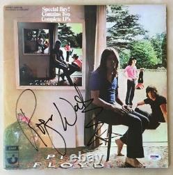 ROGER WATERS Autographed Signed UMMAGUMMA Vinyl Record Album PSA PINK FLOYD