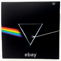ROGER WATERS & NICK MASON Signed Pink Floyd DARK SIDE OF THE MOON Album LP BAS