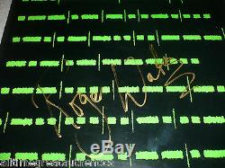 ROGER WATERS SIGNED PINK FLOYD RADIO K. A. O. S. SOLO ALBUM RECORD LP PROOF WithCOA