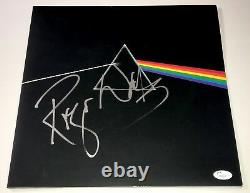 ROGER WATERS Signed DARK SIDE OF THE MOON Vinyl LP Autograph JSA COA Pink Floyd