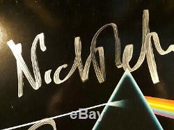 ROGER WATERS Signed + NICK MASON PINK FLOYD DSOTM (EXACT PHOTO PROOF)