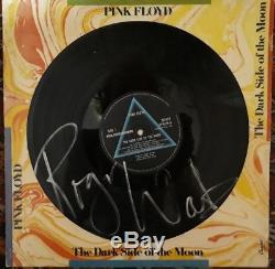 ROGER WATERS Signed PINK FLOYD DARK SIDE OF THE MOON (PHOTO PROOF)