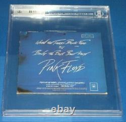 ROGER WATERS Signed Pink Floyd THE WALL 45 SLEEVE Beckett Authenticated & Encap