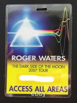 ROGER WATERS signed AUTOGRAPH The Dark Side Of The Moon 2007 tour PINK FLOYD