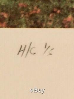 Rare signed Pink Floyd Storm Thorgerson Tree of Half LifeFine Art print HC 1/5