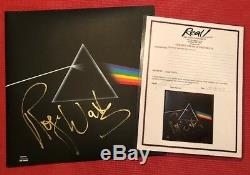 Real Epperson Roger Waters Signed Pink Floyd Dark Side Of The Moon Album