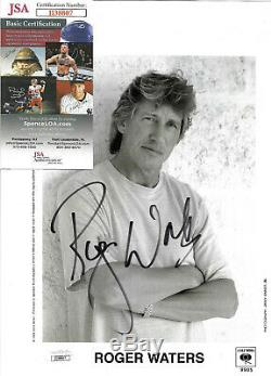 Roger Waters Authentic Signed 8.5x11 Photo Autographed, Pink Floyd, JSA COA