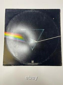 Roger Waters Autographed Pink Floyd Dark Side Of The Moon Record Album