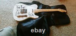 Roger Waters Beckett Autographed Signed Telecaster Guitar The Wall Pink Floyd