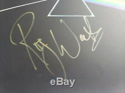 Roger Waters Dark Side Moon Pink Floyd Autographed Signed Album LP Record BSA