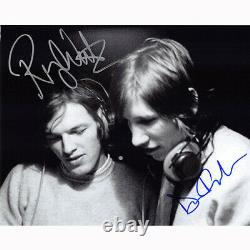 Roger Waters & David Gilmour Floyd (72074) Autographed In Person 8x10 with COA