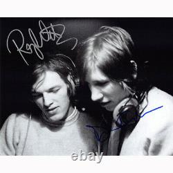 Roger Waters & David Gilmour Floyd (72075) Autographed In Person 8x10 with COA