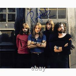 Roger Waters & David Gilmour Floyd (73112) Autographed In Person 8x10 with COA