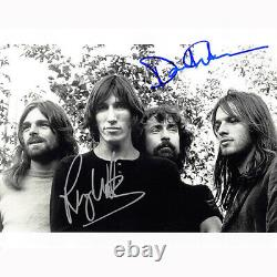 Roger Waters & David Gilmour Floyd (76151) Autographed In Person 8x10 with COA