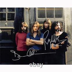 Roger Waters & David Gilmour Floyd (76154) Autographed In Person 8x10 with COA