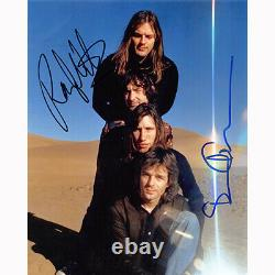 Roger Waters & David Gilmour Floyd (80446) Autographed In Person 8x10 with COA