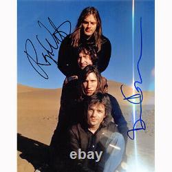 Roger Waters & David Gilmour Floyd (80447) Autographed In Person 8x10 with COA