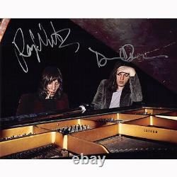 Roger Waters & David Gilmour Floyd (80898) Autographed In Person 8x10 with COA