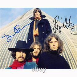 Roger Waters & David Gilmour Floyd (80905) Autographed In Person 8x10 with COA