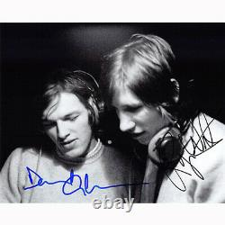 Roger Waters & David Gilmour Floyd (82476) Autographed In Person 8x10 with COA