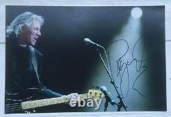 Roger Waters Hand Signed 10x8 Photograph Pink Floyd The Wall