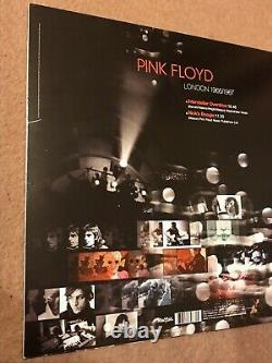 Roger Waters & Nick Mason Hand Signed Pink Floyd London 1966/1967 Vinyl cover