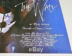 Roger Waters PINK FLOYD Signed Autograph 24x36 The Wall Poster FA LOA
