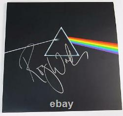 Roger Waters PINK FLOYD Signed Autograph Dark Side Of The Moon Record Album LP