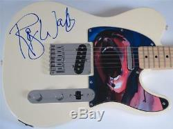 Roger Waters PINK FLOYD Signed Autograph Guitar