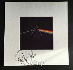Roger Waters Pink Floyd Band Member Dark Side Of The Moon Signed Display