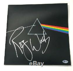 Roger Waters Pink Floyd Dark Side of the Moon Signed Record Album Auto BAS LOA